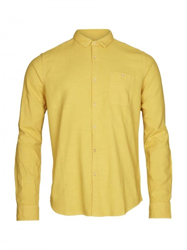 Shirt yellow organic cotton