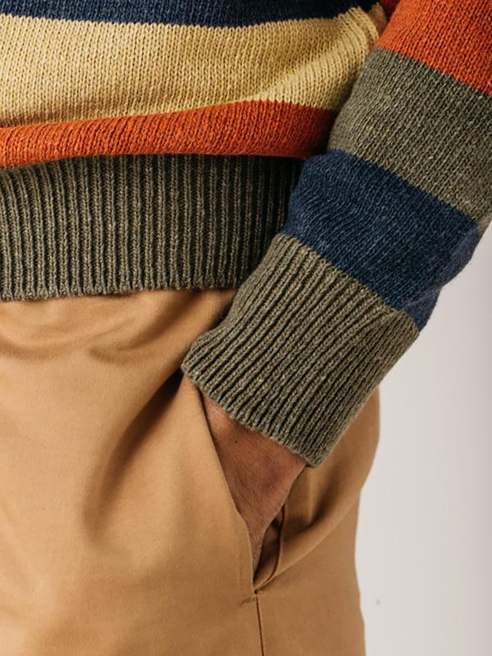 Sweater made with recycled materials-A.Lindgren