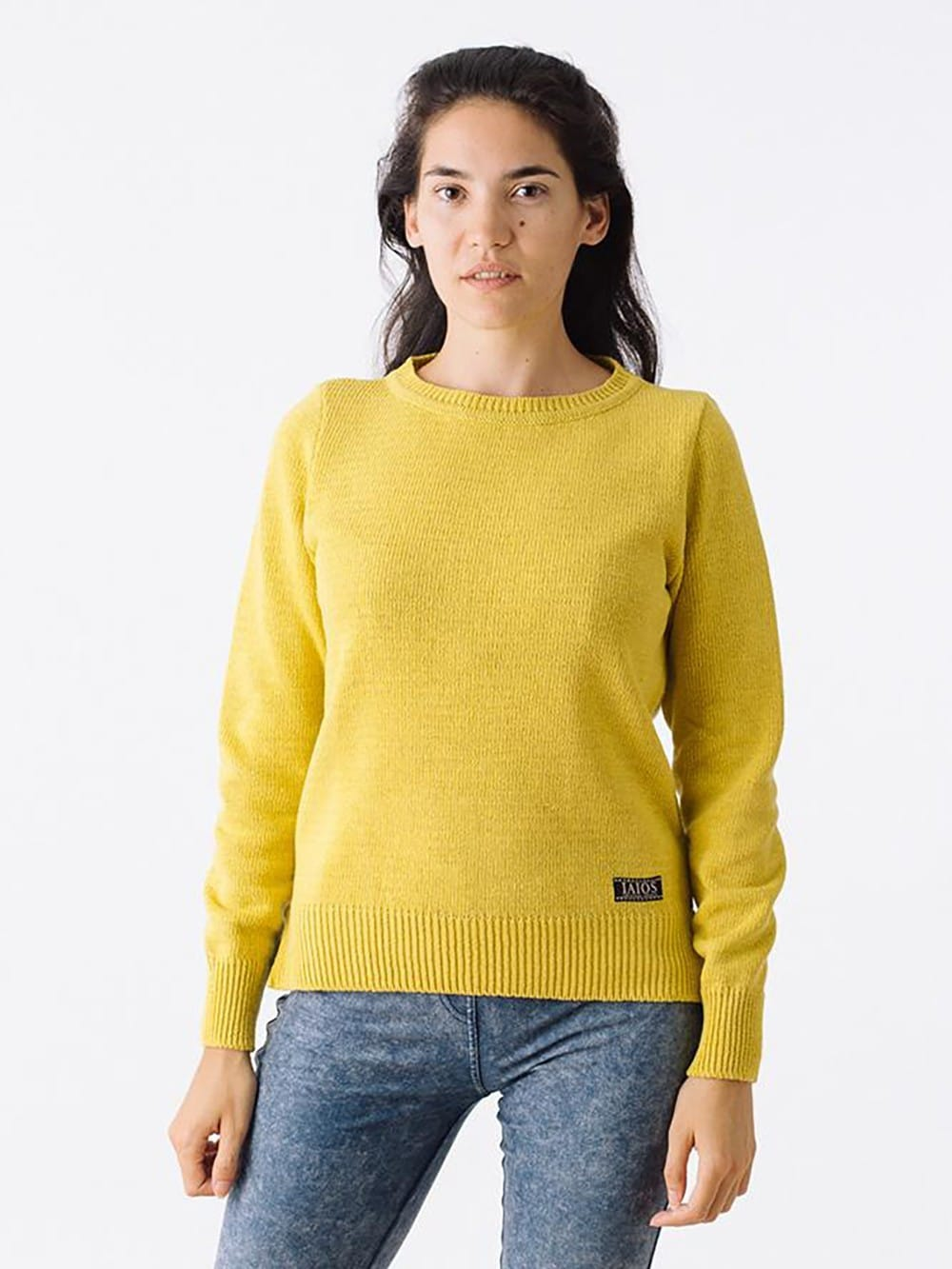 Sweater made with recycled materials-N.Da Silveira
