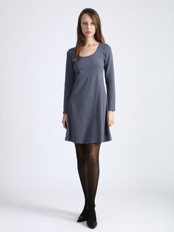 Linsell dress-grey