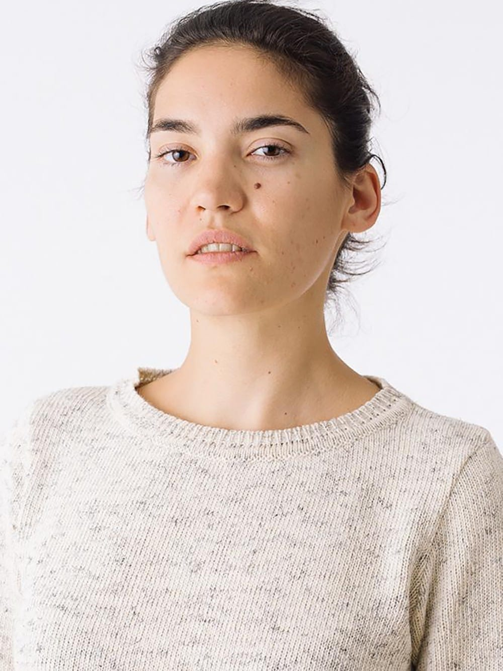 Sweater made with recycled materials-women-N. da Silveira
