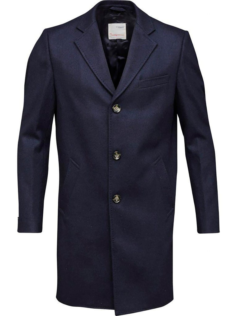 Classic coat made of recycled wool