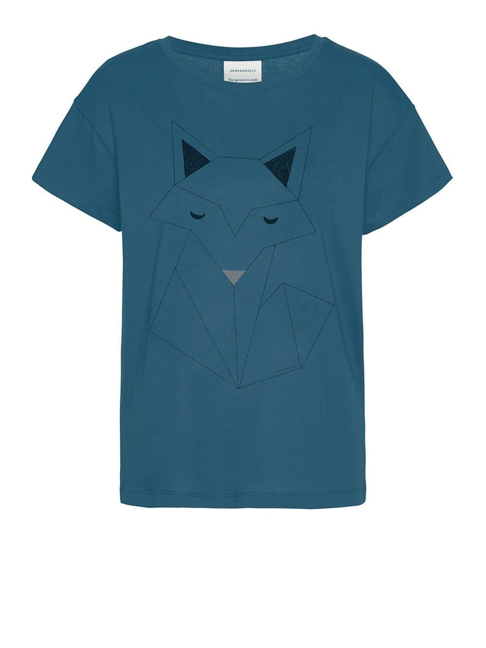 Organic cotton t-shirt-Nela Fox