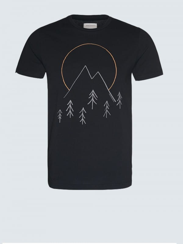 Organic cotton t-shirt-James Peaks
