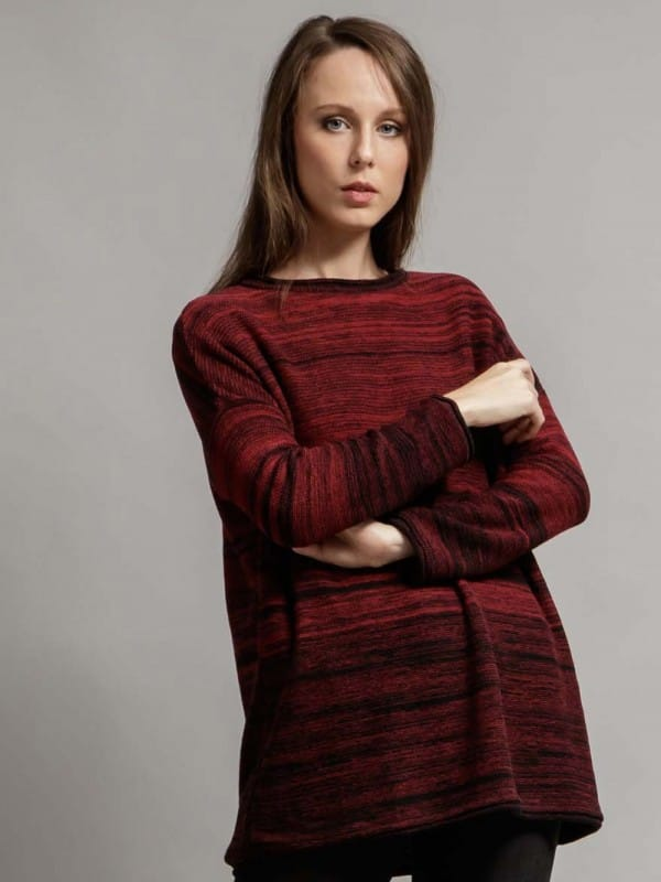 Sweater made with recycled materials - Vallvick