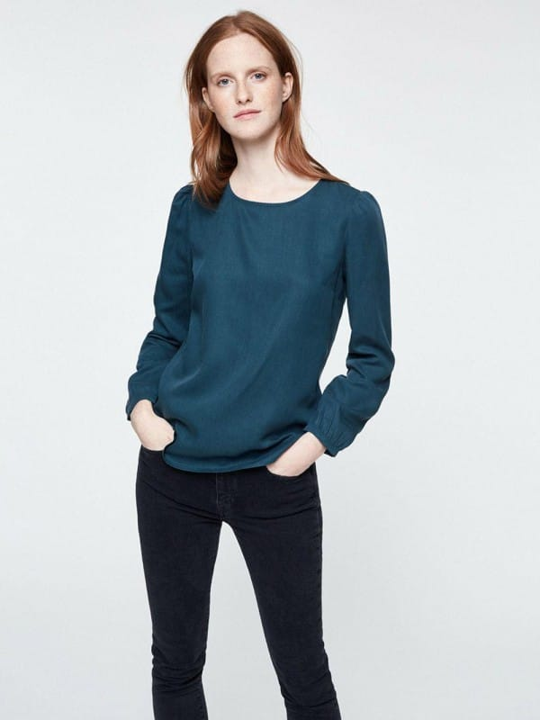 Long sleeve shirt by Tencel-Ottilie