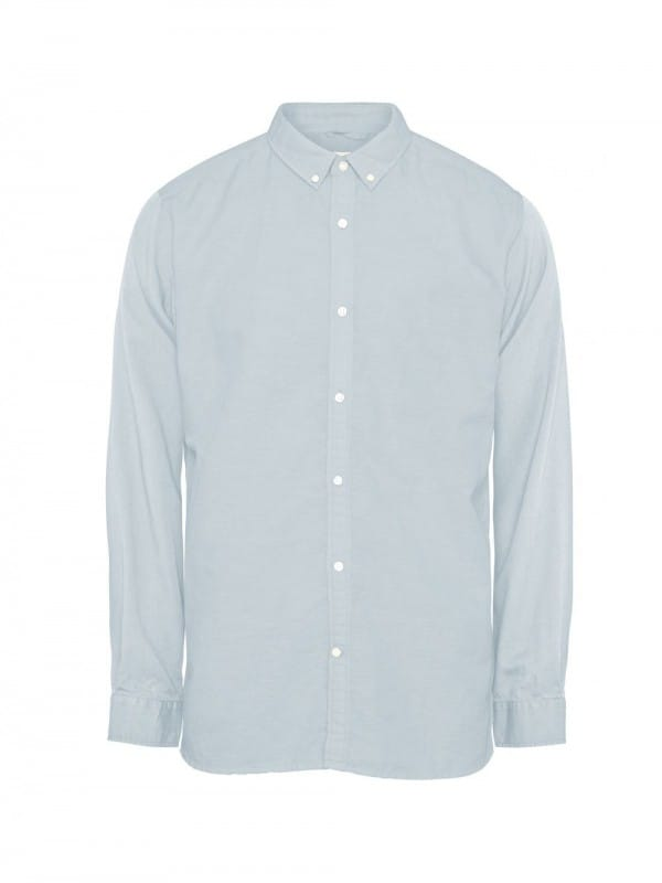 Plane linen and organic cotton shirt