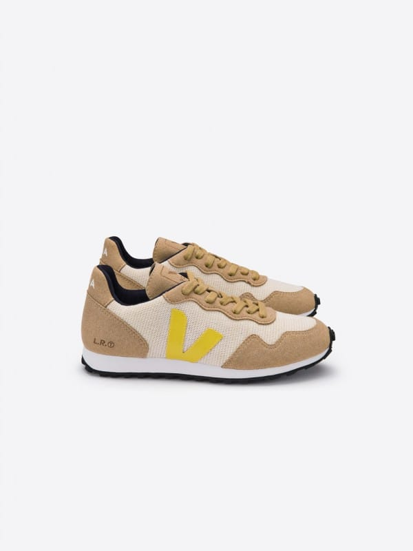 Vegan Veja Snearkers SDU Rec Juta Natural Gold Yellow