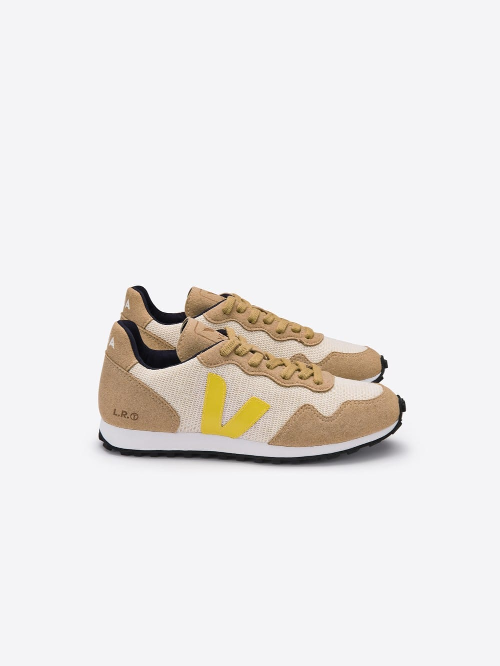 Zapatillas Veja Veganas SDU Rec Juta Natural Gold Yellow