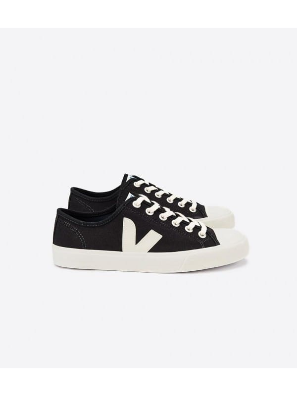 Zapatillas Veja Veganas Nova Canvas Black Pierre