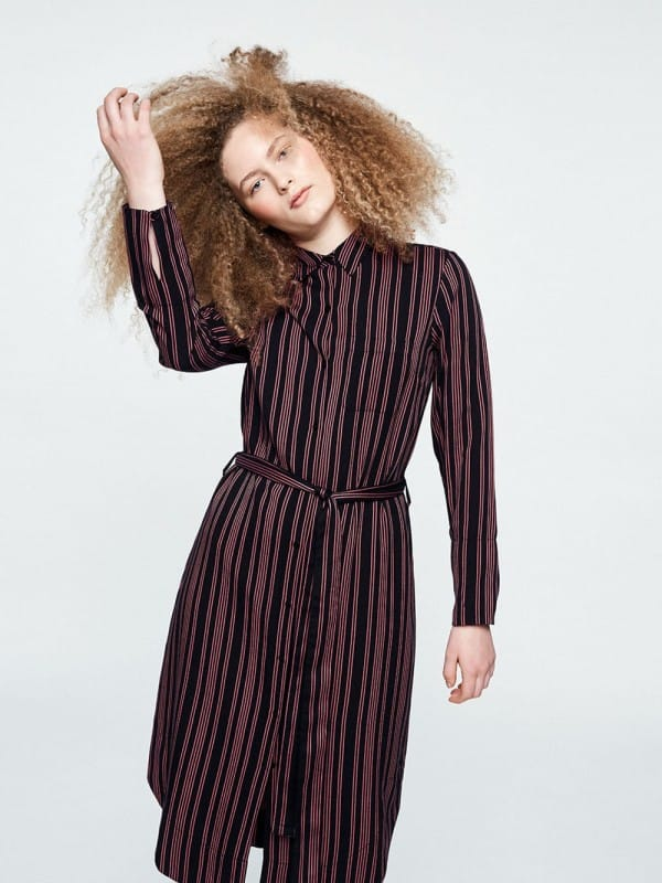 Long sleeve dress Ecovero-Jamila