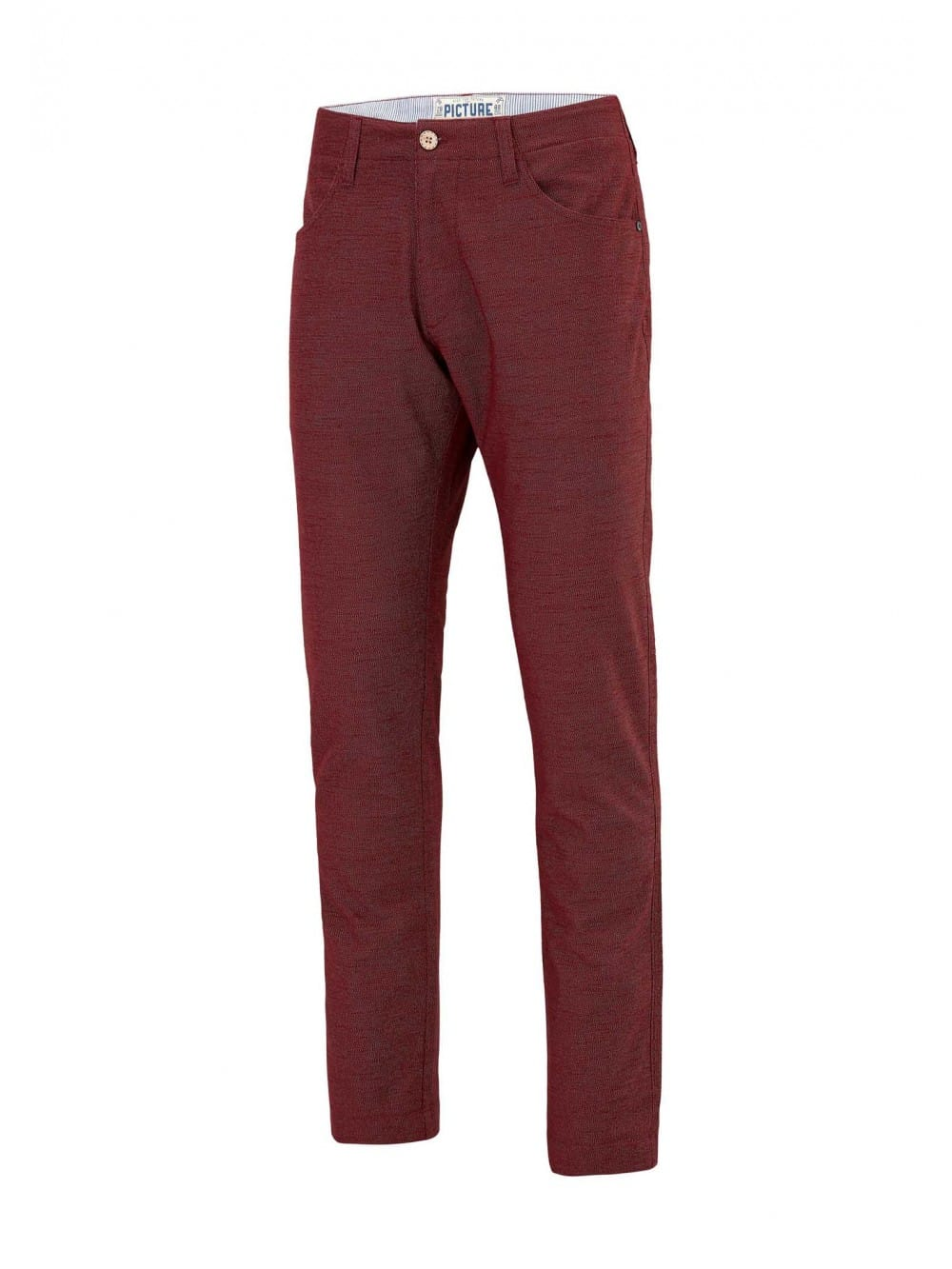 Chino recycled cotton long pants-Feodor