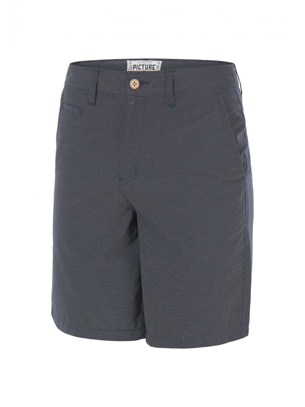Recycled polyester street fit shorts-Mao