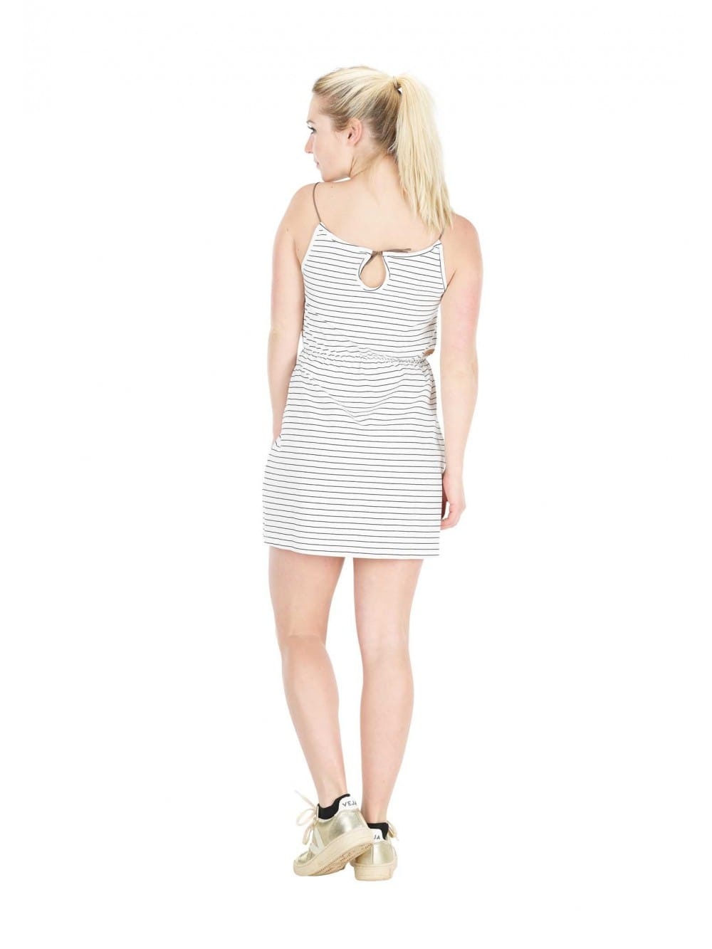 Organic cotton sailor tank dress-Zephir