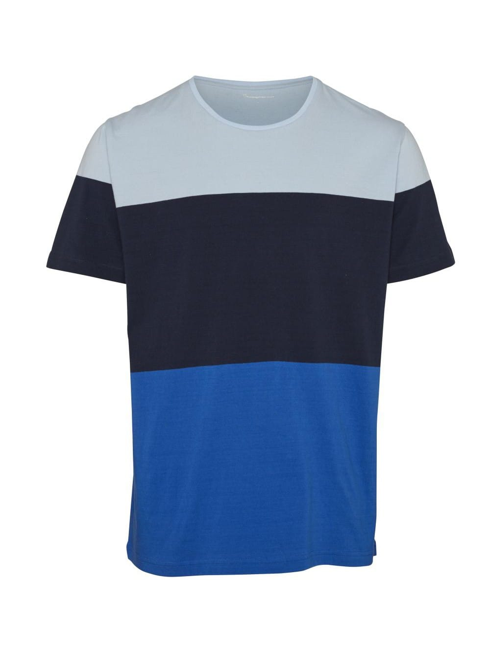 Block striped organic cotton t-shirt