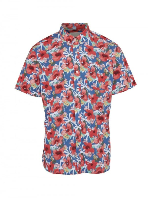 Hawaian organic cotton short sleeve shirt