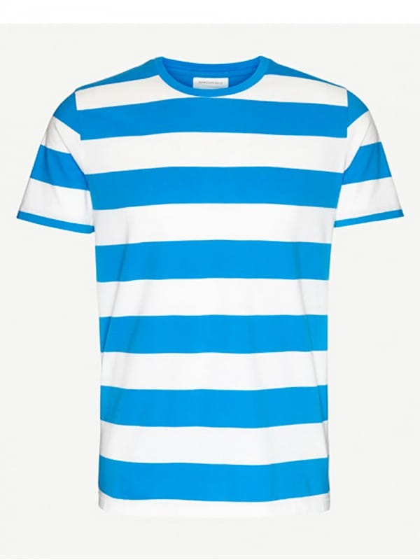 White sailor striped t-shirt-Enaas