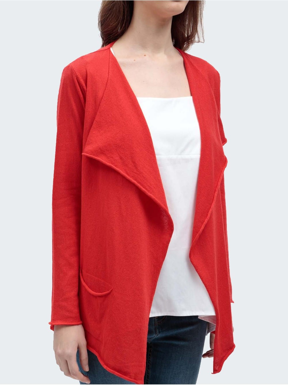 Cardigan mde of recycled materials-Naggen