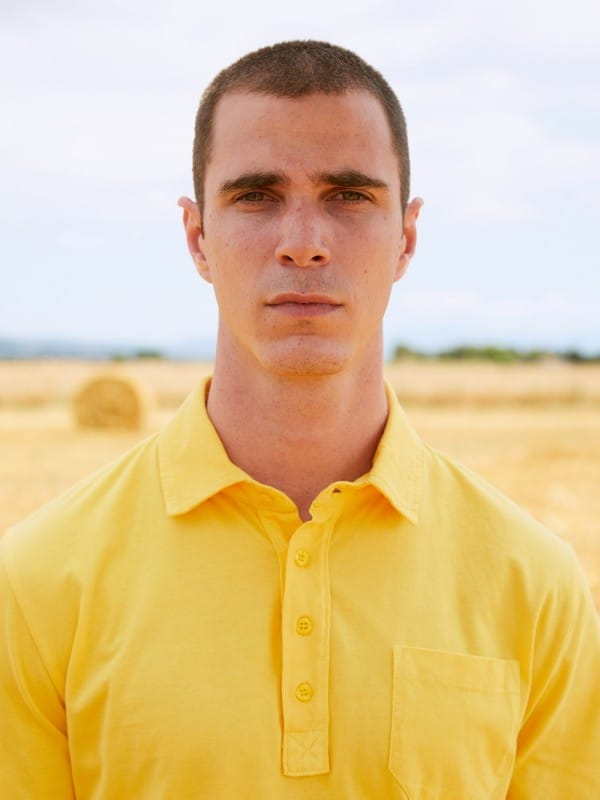 Organic cotton plain polo
