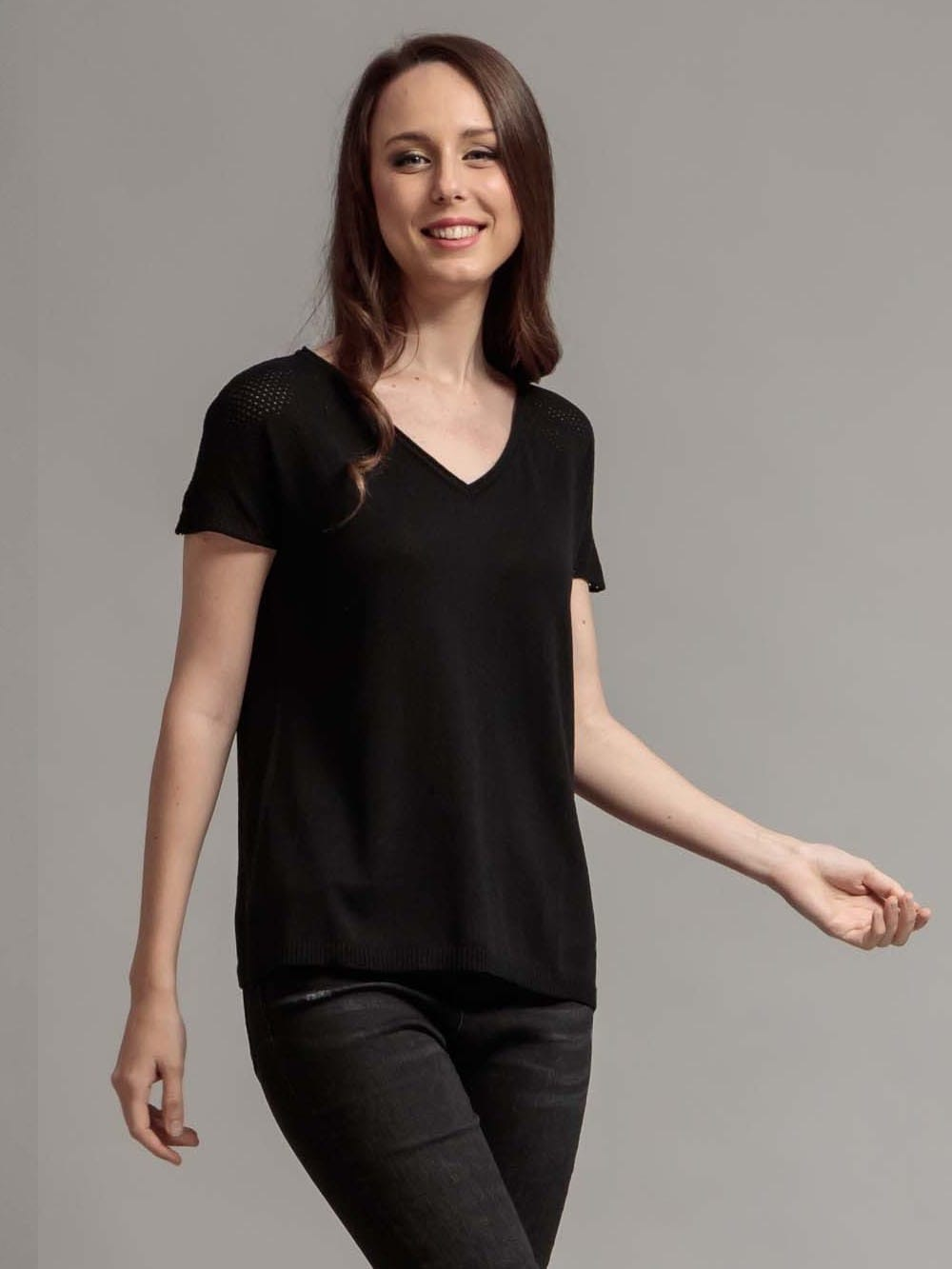 T-shirt made with recycled materials - Aloe