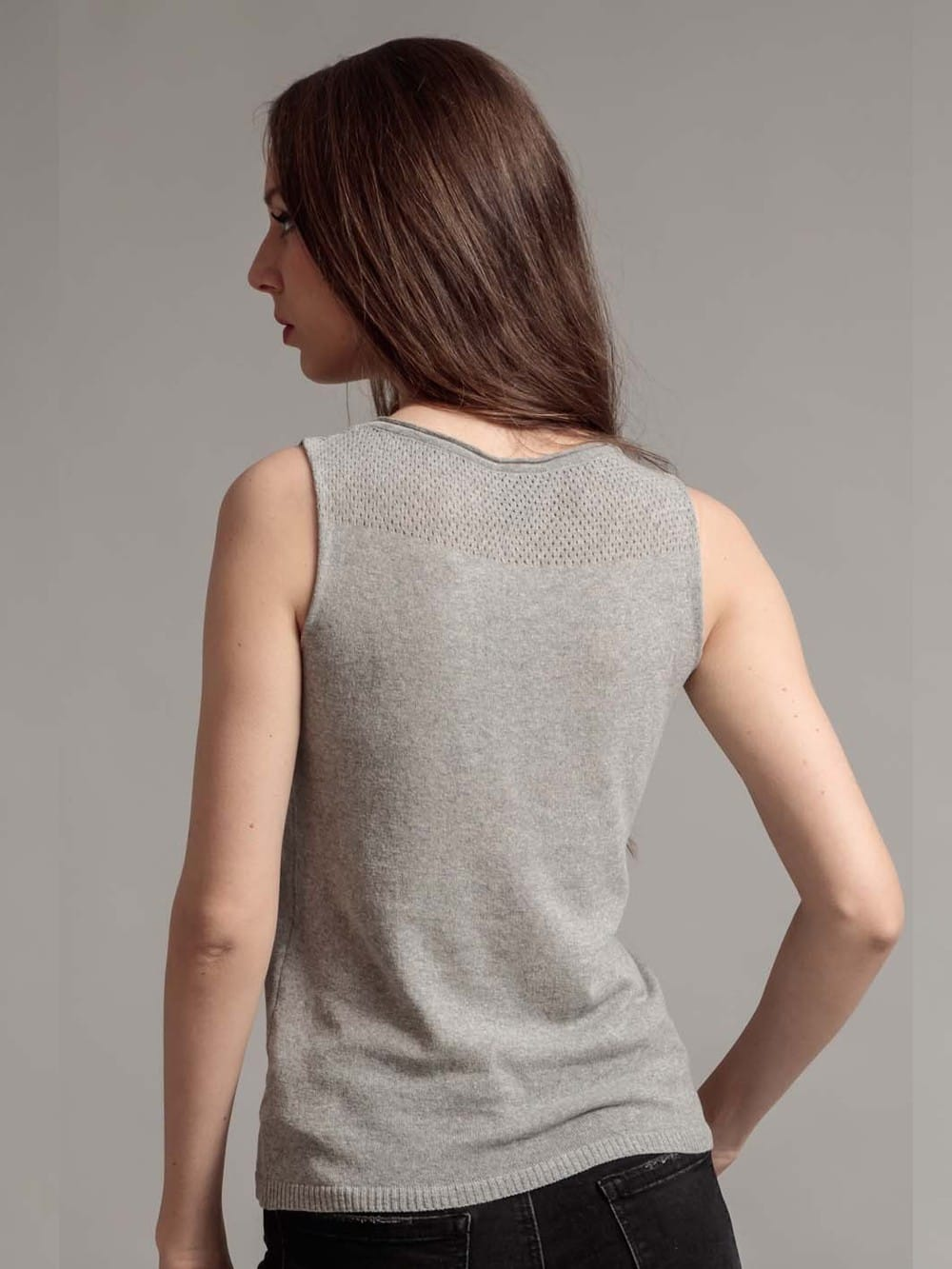 Tank t-shirt made with recycled materials - Aloe