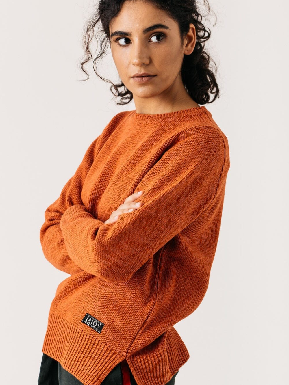 Recycled yarn sweater - NISE