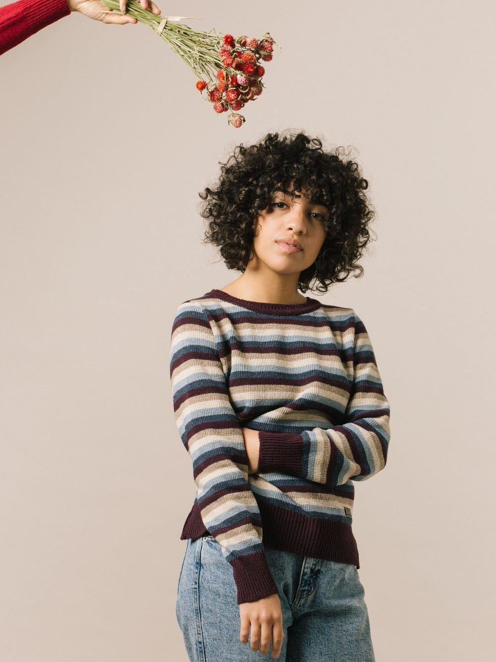 Recycled yarn sweater - LINDGREN
