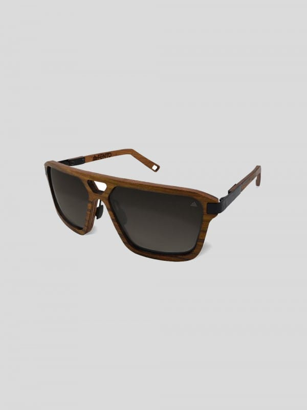 Sustainable sun glasses steel and wood-Legend