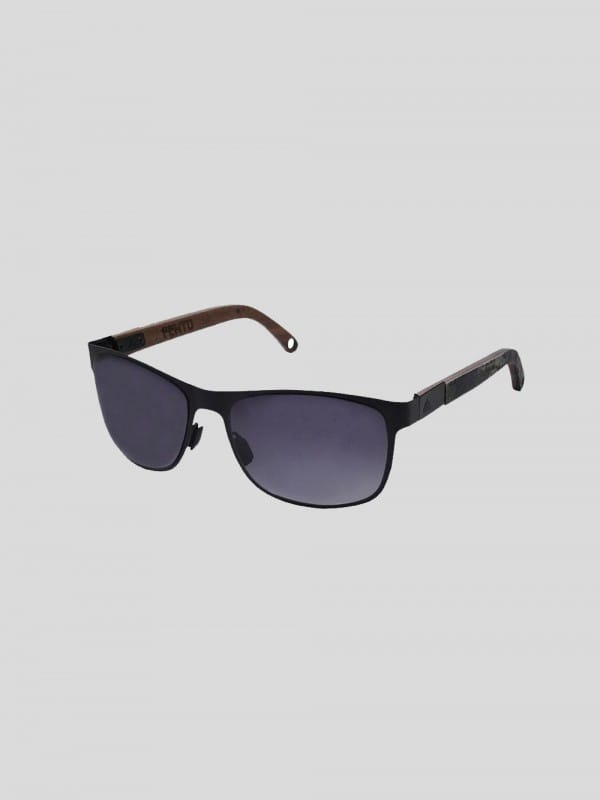 Sustainable sun glasses steel and wood-Albura