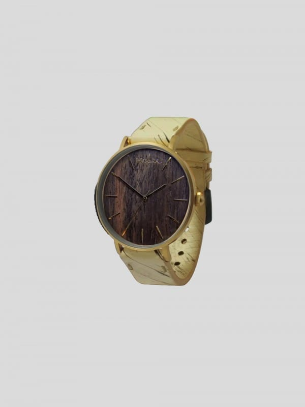 Handmade watch made of sustainable materials-Manta