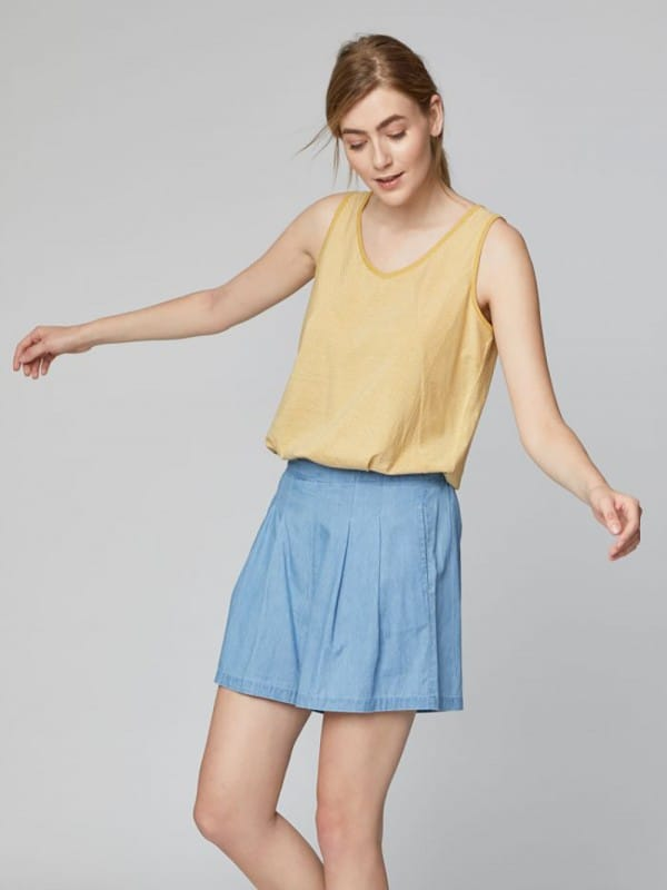 Organic cotton shorts Nico-Samara