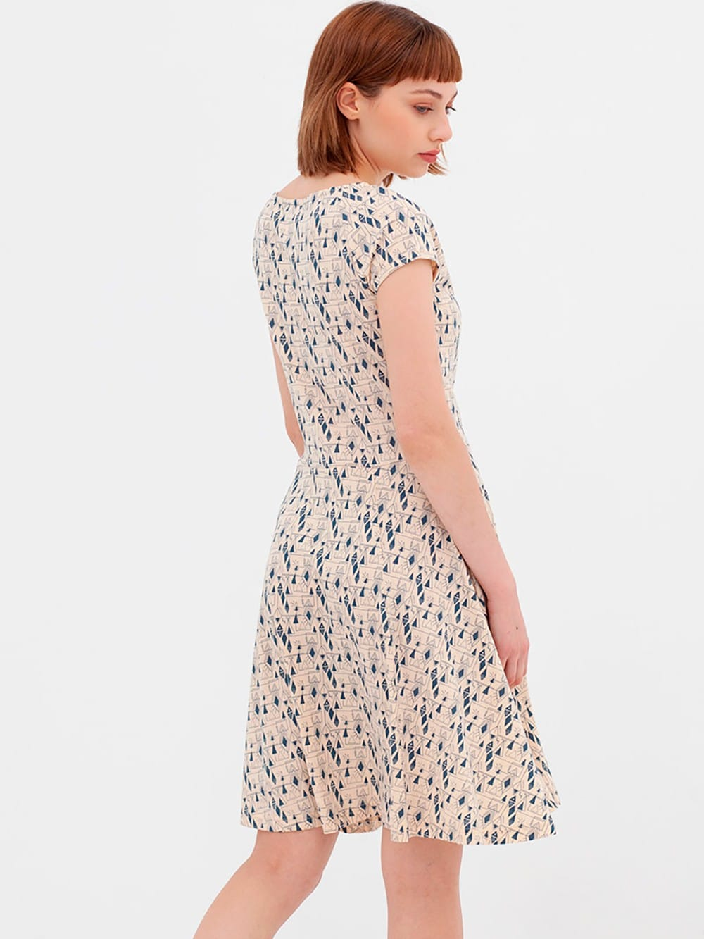 Organic cotton retro dress nico-Ad le