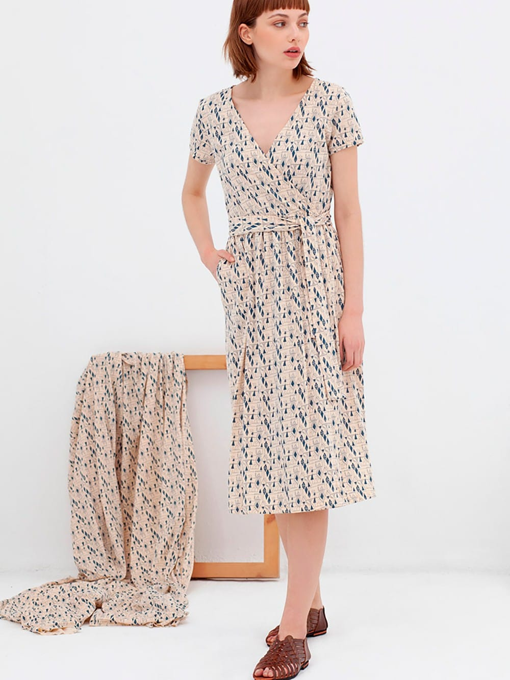 Cotton cross dress organic n-Amelie