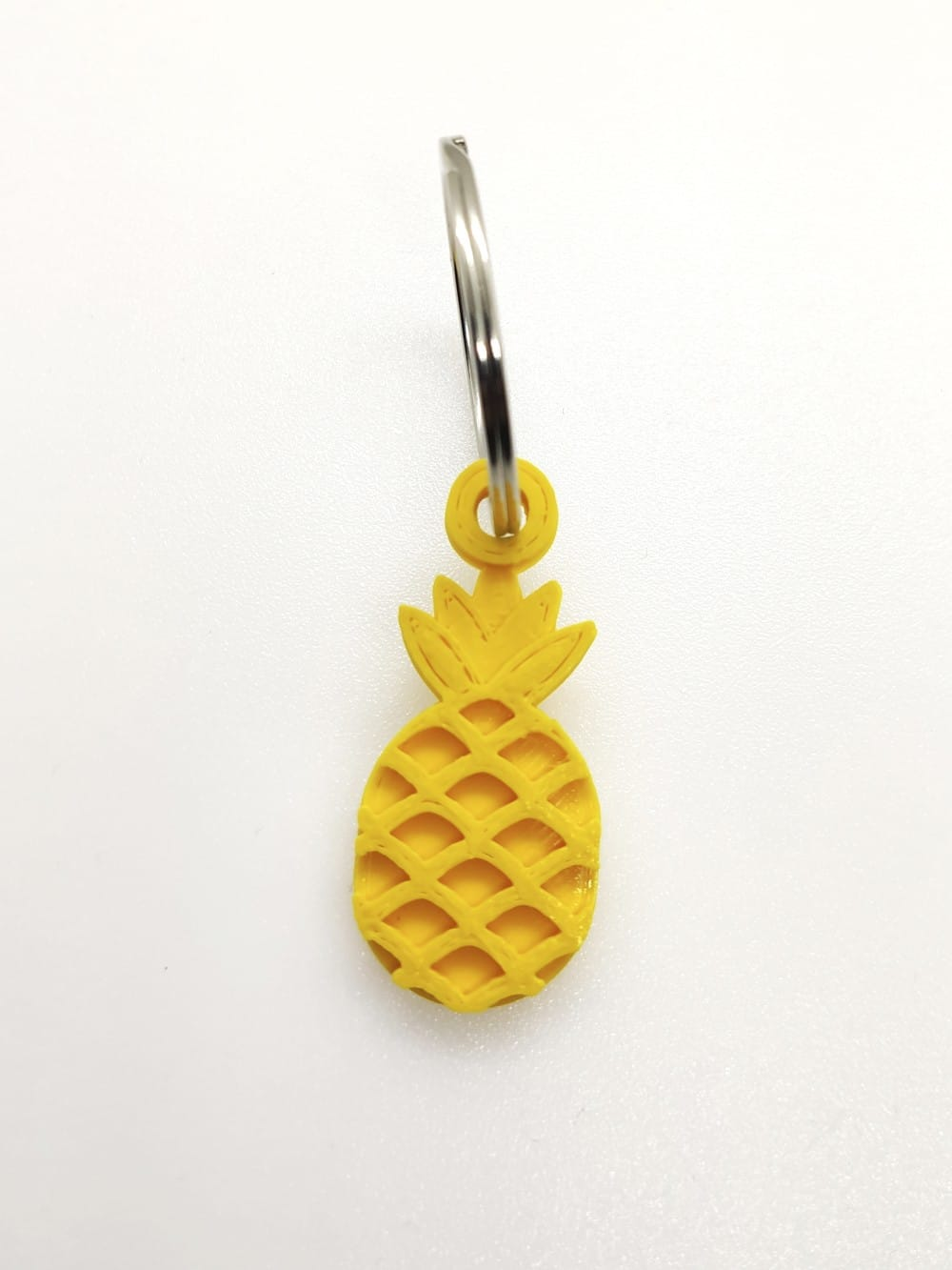 Biodegradable 3D printed keychain-Pi a