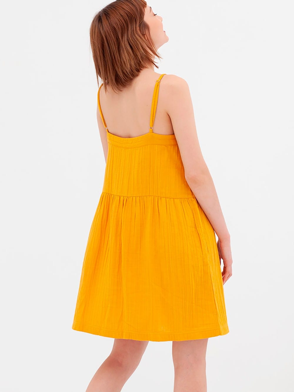 Organic muslin xarleston dress-Ambar