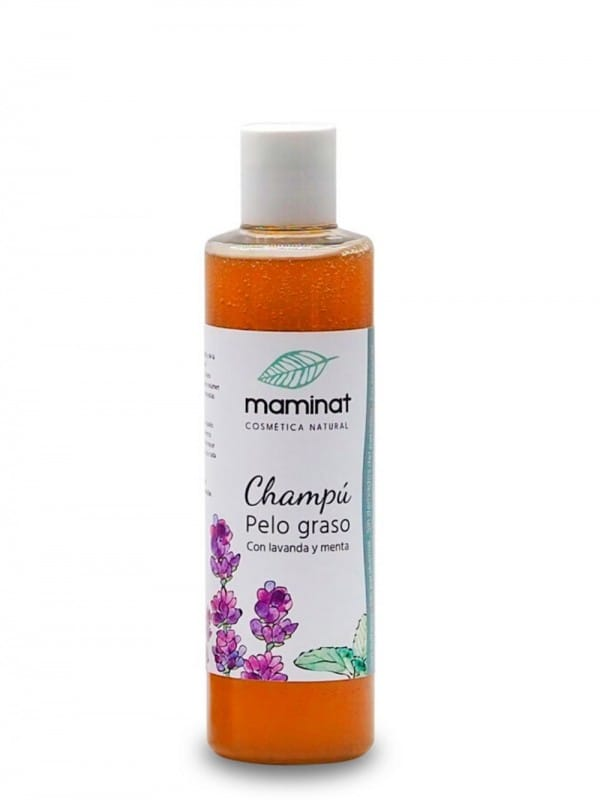 Shampoo for oily hair based on lavender, rosemary, nettle and mint 250ml