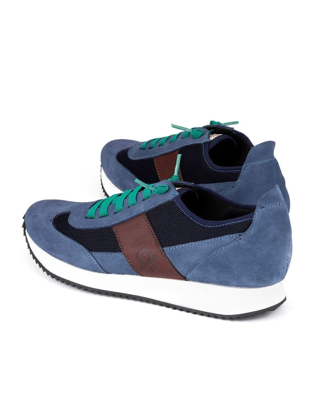 Ecofriendly shoe made locally-Blues