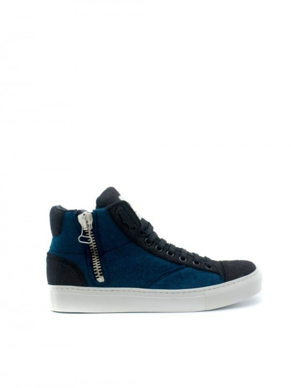 Recycled bottle sneaker-Milan Blue