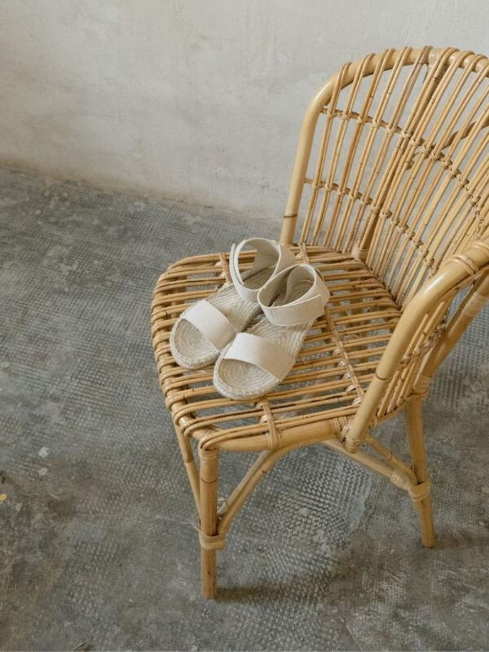 Recycled cotton and jute-Natias sandals
