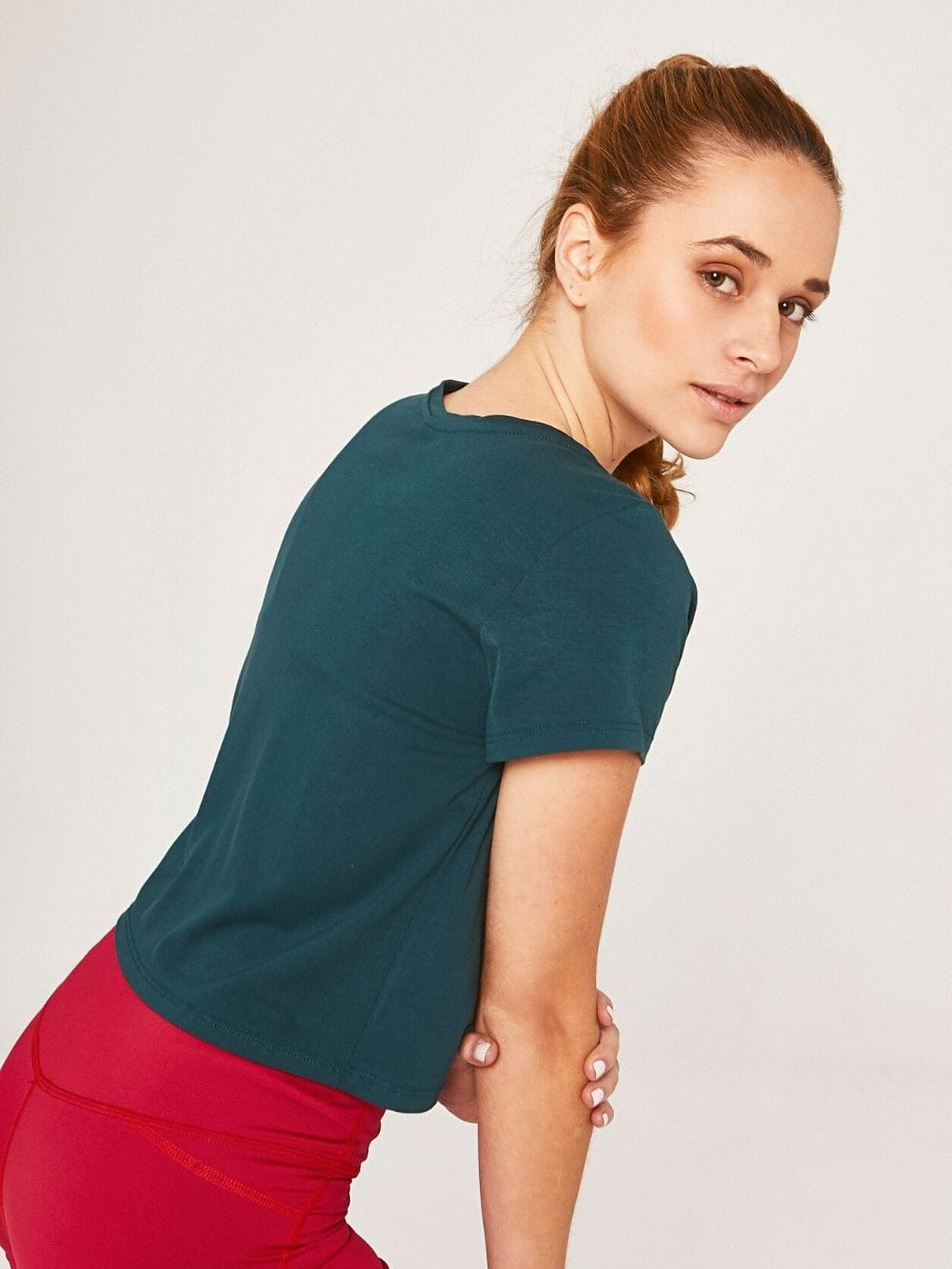 Bamboo Sustainable Sport Top-Lydia