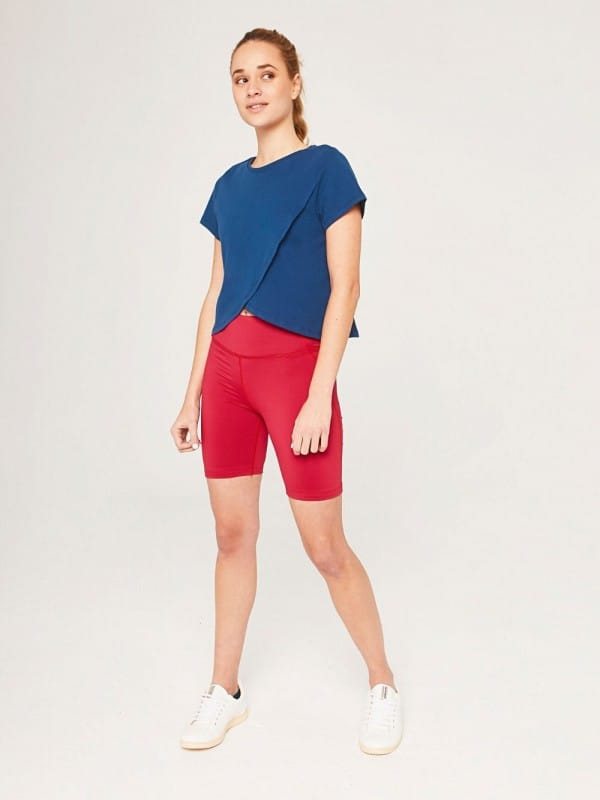 Organic cotton sustainable sports top-Lydia