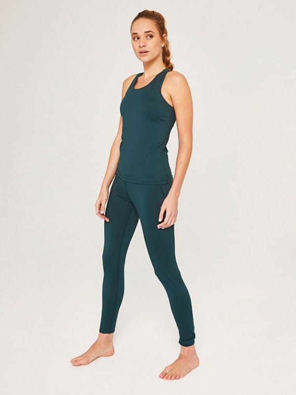 Recycled polyester sport top-Mireia