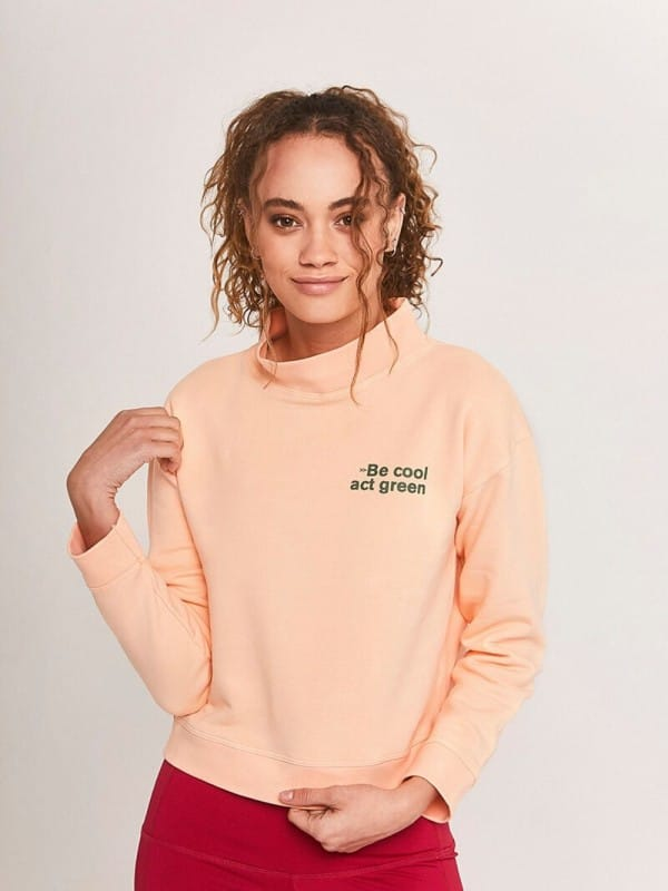 Basic Organic Cotton Sweatshirt-Act Green