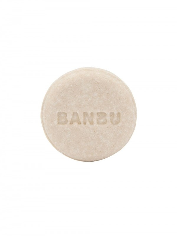 Solid shampoo for normal to dry hair