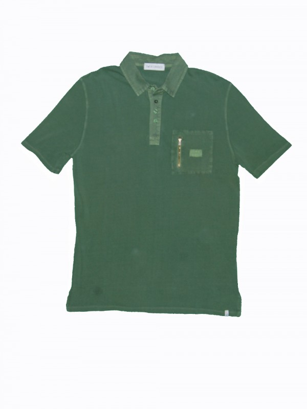 Organic cotton polo shirt made in Barcelona
