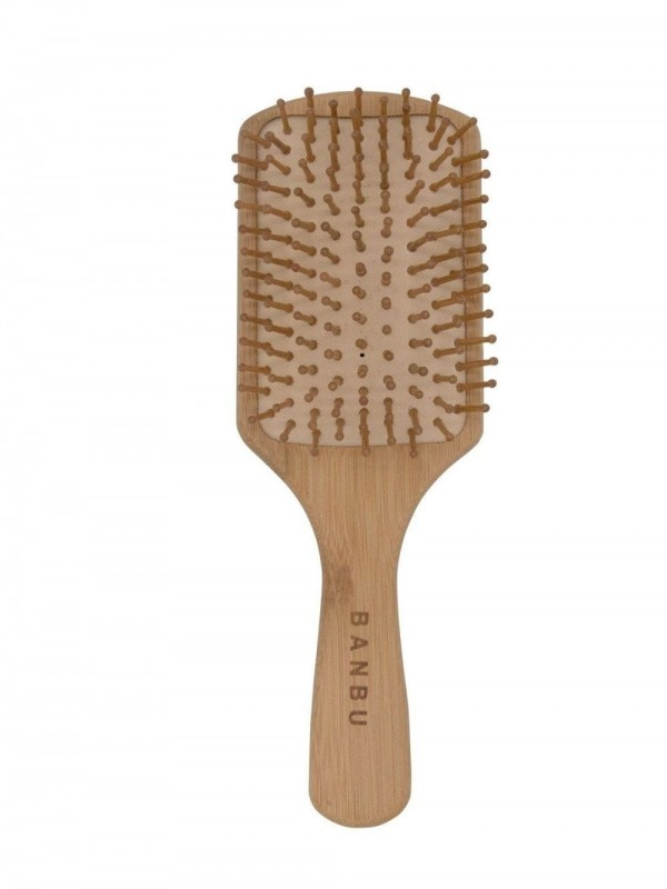 Biodegradable bamboo brush
