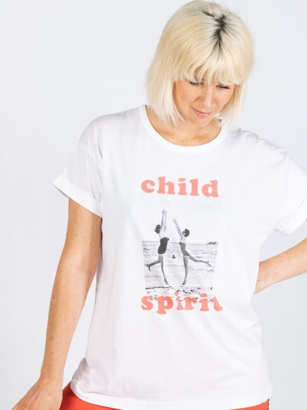 Camiseta algodón orgánico - Child Spirit