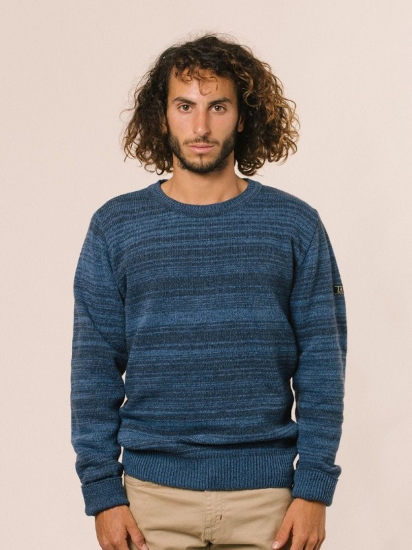 Plain sweater made from recycled materials-Kapuscinski (torch)