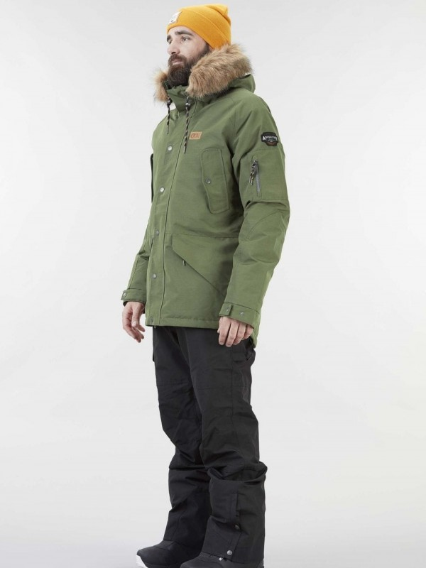 Sustainable recycled polyester ski jacket-Kodiak