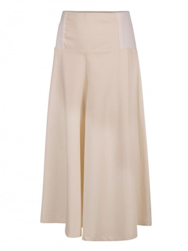 Organic cotton maxi wide pants-Okinawas